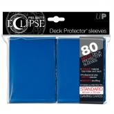 PRO-Matte Eclipse Blue Standard Deck Protector sleeves 80ct