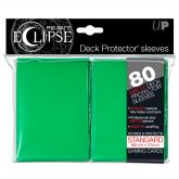 PRO-Matte Eclipse Green Standard Deck Protector sleeves 80ct