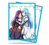 Sword Art Online II Yuuki & Asuna Standard Deck Protector sleeves 65ct
