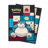 Pokemon Snorlax Deck Protector sleeves 65ct