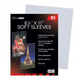 "8-1/2"" x 11"" Soft Sleeves"