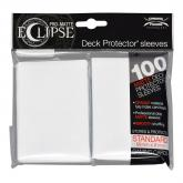Eclipse Matte Standard Sleeves - Arctic White
