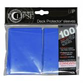 Eclipse Matte Standard Sleeves - Pacific Blue