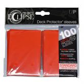 Eclipse Matte Standard Sleeves - Apple Red