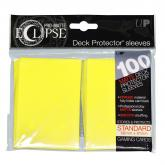Eclipse Matte Standard Sleeves - Lemon Yellow