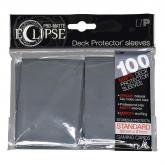PRO-Matte Eclipse Smoke Grey Standard Deck Protector sleeve 100ct