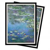 Fine Art - Water Lilies Standard Deck Protector sleeves 65ct