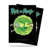 Rick and Morty V3 Deck Protector Sleeves 65ct