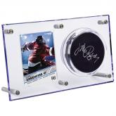 Clear Puck & Card Flip Display 120pt