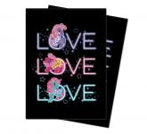 My Little Pony Retro Neon Deck Protector sleeve 100ct