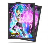 Dragon Ball Super Standard Deck Protector sleeves 65ct, God Charge Vegeta