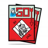 Monopoly Go Directly to Jail Deck Protectors sleeves (100 ct.)