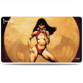 Vampire Mistress Playmat by Frank Frazetta