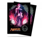 Mana 4 Planeswalker - Liliana Standard Deck Protectors for Magic 80ct