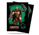 Mana 4 Planeswalker - Garruk Standard Deck Protectors for Magic 80ct