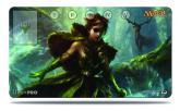 Commander Freyalise, Llanowar's Fury Playmat for Magic