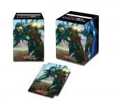 Commander 2015 Ezuri, Claw of Progress PRO-100+ Deck Box for Magic