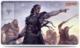Commander 2016 Playmat, Saskia the Unyielding, for Magic