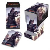 Commander 2016 PRO - 100+ Deck Box with Tray, Saskia the Unyielding, for Magic