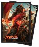 Rivals of Ixalan Angrath, the Flame-Chained Standard Deck Protector Sleeve for Magic 80ct