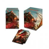 Rivals of Ixalan Angrath, the Flame-Chained Deck Box 100+ for Magic