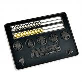Card Size Black Abacus Life Counter for Magic: The Gathering