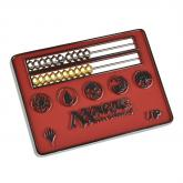 Card Size Red Abacus Life Counter for Magic: The Gathering