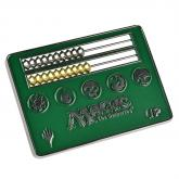 Card Size Green Abacus Life Counter for Magic: The Gathering