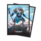 M19 Deck Protector sleeves Ajani, Adversary of Tyrants for Magic 80ct