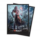 M19 Deck Protector sleeves Tezzeret, Artifice Master for Magic 80ct