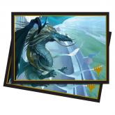 Elder Dragons: Arcades, the Strategist Standard Deck Protector Sleeves 100ct for Magic