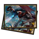 Elder Dragons: Palladia Mors, the Ruiner  Standard Deck Protector Sleeves 100ct for Magic