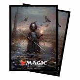 Commander 2018 Aminatou, the Fateshifter Standard Deck Protector sleeves 100ct for Magic