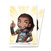 Chibi Collection Gideon - Good Job! Standard Deck Protector sleeves 100ct for Magic