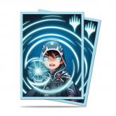 Chibi Collection Jace - Mystic Standard Deck Protector sleeves 100ct for Magic