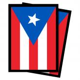 Puerto Rico Flag Deck Protector Sleeves - 50ct