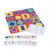 Learning Colors and Shapes Playmat