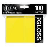 Eclipse Gloss Standard Sleeves: Lemon Yellow