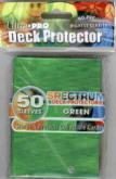 Spectrum Green Standard Deck Protectors 50ct