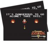 The Legend of Zelda: Dangerous Deck Protector sleeves 65ct